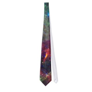 Unicorns and roses neckwear