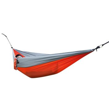 Portable Parachute Nylon Fabric Hammock for Two Person Travel Camping Outdoor