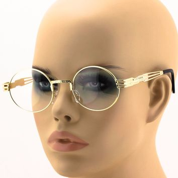 2 PAIRS - Men's Women VINTAGE RETRO 60's LENNON Style Clear Lens EYE GLASSES