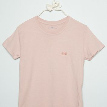 JAMIE CA BEAR EMBROIDERY TOP
