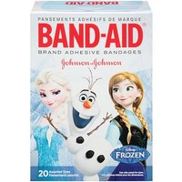 Band-Aid Brand Disney Frozen Assorted Adhesive Bandages, 20 count - Walmart.com