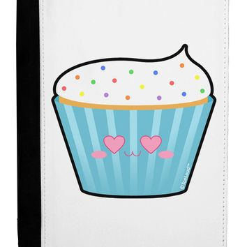 Cute Cupcake with Sprinkles - Heart Eyes Ipad Mini Fold Stand  Case by TooLoud
