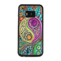 the color of drums in the wind singleton hippie artwork HTC One M9 Cases