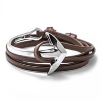 Anchor Brown & Silver