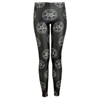Baphomet Leggings from Killstar