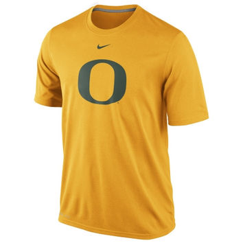 Nike Oregon Ducks Logo Legend Dri-FIT Performance T-Shirt - Gold