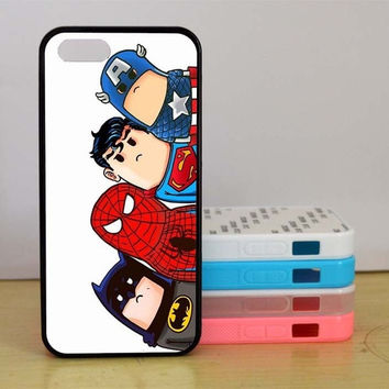 iphone 6 case, iphone 6 plus case, Batman, Cute Superhero, Spider-man,iPhone 5 case, iPhone 5C Case, iPhone 5S case, Phone case, iPhone 4 Case,Samsung Galaxy S3 S4 S5 case = 1927978500