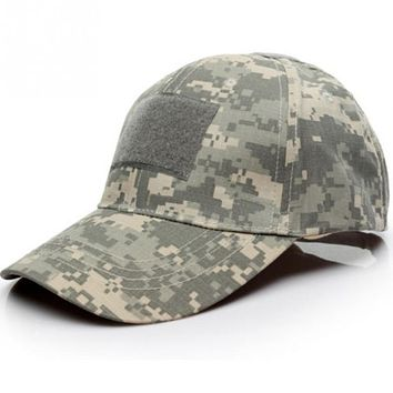 6 Patterns for Choice Snapback Camouflage Tactical Hat Patch Army Tactical Baseball Cap Unisex ACU CP Desert Camo Hats For Men Women