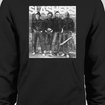 "HORROR MOVIE KILLERS ""THE SLASHERS"" PULL OVER WINTER HOODIE"