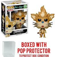 Funko Pop A. Rick and Morty Squanchy 175 12444 PROTECTOR CASE