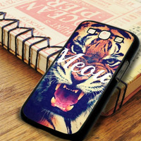 Hipster Tiger Meow Samsung Galaxy S3 Case
