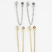 Urban Outfitters - In Chains Double-Earring Set