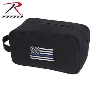 Thin Blue Line Canvas Travel Kit