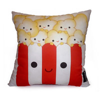 Decorative Pillow, Deluxe Pillow, Toy Pillow - Yummy Popcorn