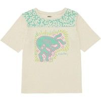WOMEN SPRZ NY SHORT SLEEVE T-SHIRT (KEITH HARING) | UNIQLO