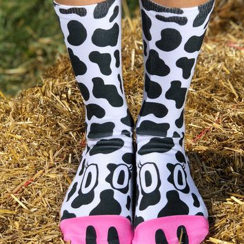 Cow Crew Socks