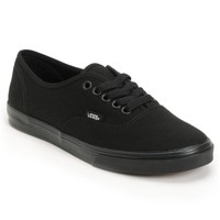Vans Authentic Lo Pro All Black Shoes (Women's)