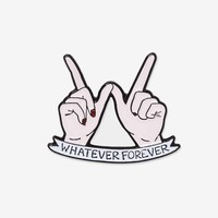 Sara M. Lyons Whatever Forever Pin