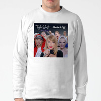 Taylor Swift Shake It Off Charecter Sweater Man and Sweater Woman