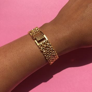 The Golden Jaguar Bracelet