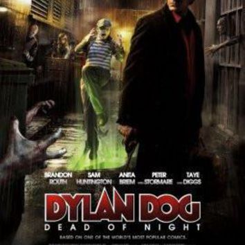 Dylan Dog poster Metal Sign Wall Art 8in x 12in