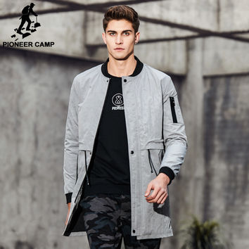 New arrival Spring trench coat men clothing fashion mens long coat top quality male overcoat