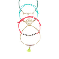4 x Ipanema Friendship Bracelets | Multi | Accessorize