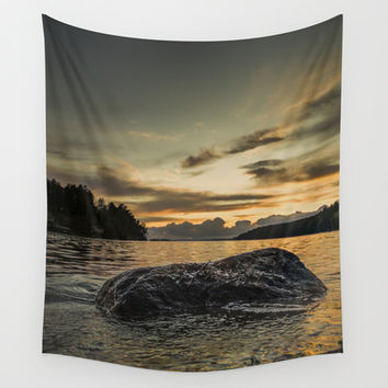 Monsters Wall Tapestry by HappyMelvin