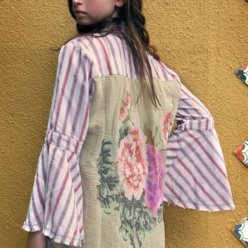 Palm Springs Shirt - Coral by Aratta