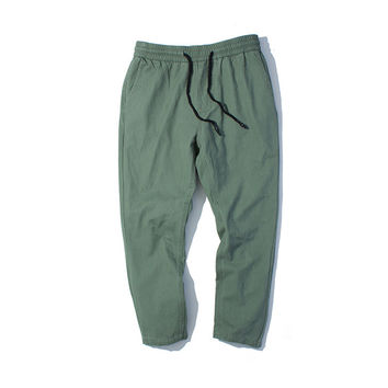 Men's Fashion Autumn Casual Training Pants [7929487107]