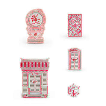 Kikkerland Design Inc » Products » Chinese Hutong Architecture Erasers
