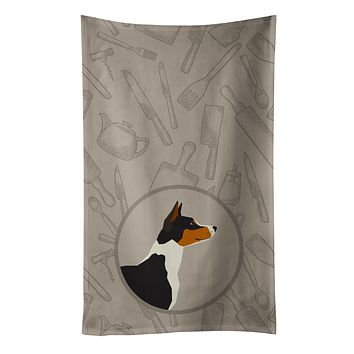 Basenji In the Kitchen Kitchen Towel CK2164KTWL