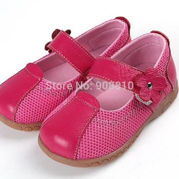 girls leather sport shoes child shoes baby girls sneakers mary jane with flower light playground shoes minnie walker tennis shoe