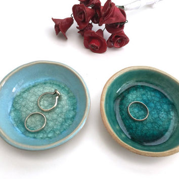 Engagement gifts for Couple - Mediterranean Sea Dreams Collection - Engagement gifts - Set of two ring holders - Gift sets