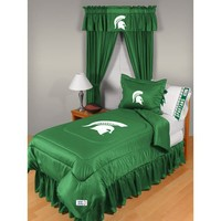 Sports Coverage Michigan State University Comforter - Full/Queen - 04JRCOM4MISQUEN