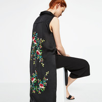 FLORAL EMBROIDERED SHIRT - View all-WOMAN-NEW IN | ZARA United Kingdom