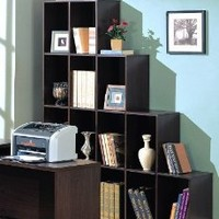 Amazon.com: Contemporary Home Office Cube Bookcase Display Shelves: Home & Kitchen
