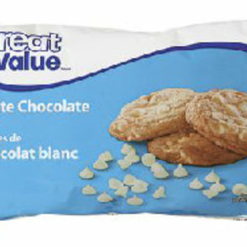 Great Value White Chocolate Chips | Walmart.ca