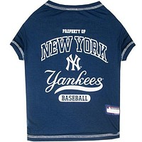 New York Yankees Pet T-Shirt