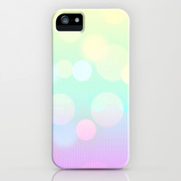 Bubbles iPhone & iPod Case by PinkBerryPatterns