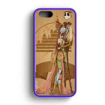 Jack Skellington And Sally Steampunk  iPhone 5 Case iPhone 5s Case iPhone 5c Case