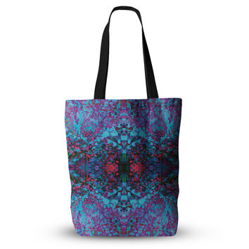 "Nikposium ""Boysenberry"" Blue Purple Everything Tote Bag"