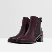 ELASTICATED HIGH HEEL ANKLE BOOTS - View all-SHOES-WOMAN | ZARA United Kingdom