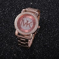 MK Women Fashion Quartz Classic Watch Wristwatch (With Thanksgiving&Christmas Gift Box)