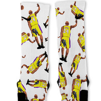 Kobe Mamba Custom Nike Elite Socks