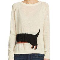 French Connection Dachshund Sweater