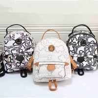 """TOUS"" Fashion Print Small Backpack Women Casual Double Shoulder Bag"