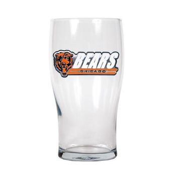 Chicago Bears 20oz Pub Glass