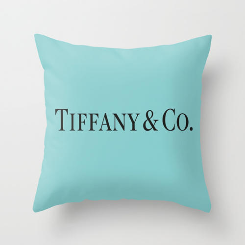 tiffany blue throw pillow by luxe glam from society6. Black Bedroom Furniture Sets. Home Design Ideas