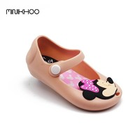 Mini Melissa Mickey & Minnie Jelly Shoes Baby Boys Girls Sandals Soft Comfort Toddler Girl Melissa Beach Sandals Kids